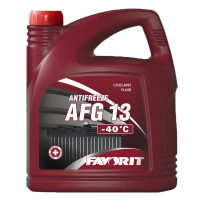 Antifreeze FAVORIT AFG 13 (-40°С)
