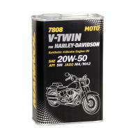 Mannol 7808 4-Takt  V-TWIN for Harley Davidson 20W-50